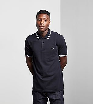 Fred Perry Slim Twin Tipped Polo Shirt