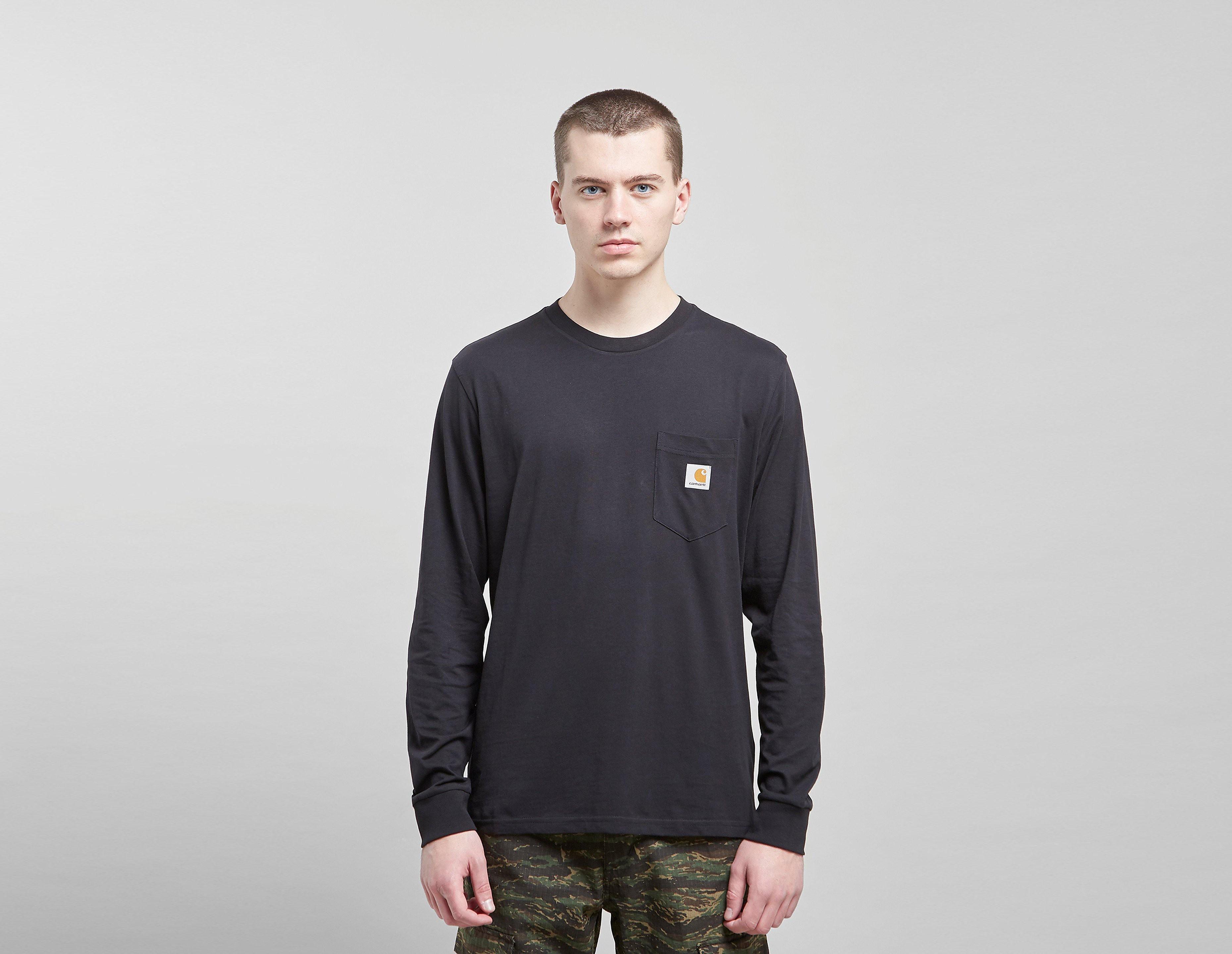 Carhartt WIP Long-Sleeved Pocket T-Shirt