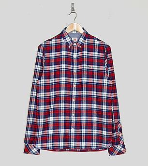 Lacoste L!ve Check Flannel Shirt