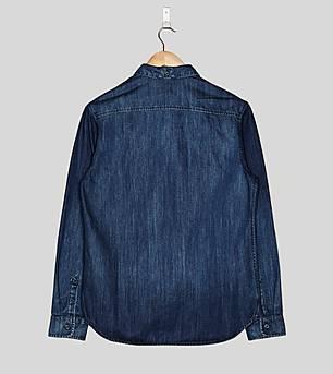 adidas Originals Blue Denim Shirt