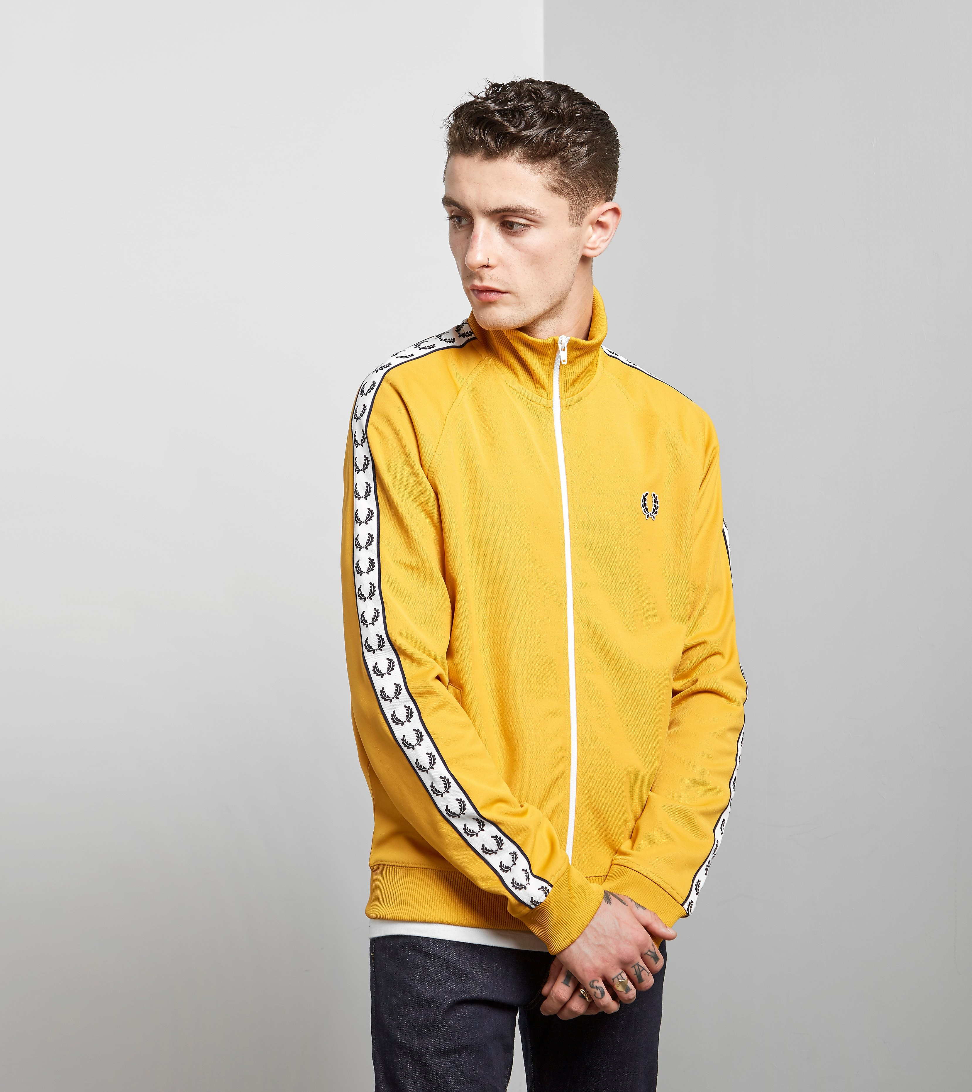 Fred Perry Laurel Wreath Tape Track Top