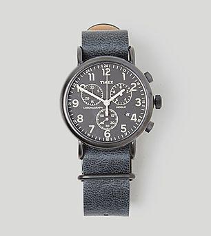 Timex Heritage Series Weekender Chronograph Watch