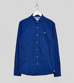 Lacoste Long Sleeved Twill Shirt