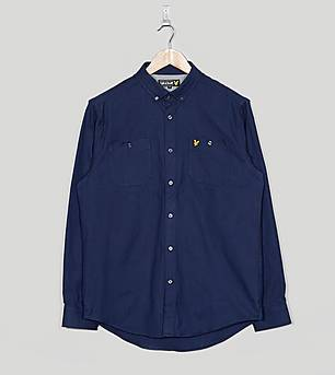 Lyle & Scott Long Sleeved Heavy Twill Shirt
