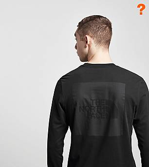 The North Face Fine Box Long Sleeve T-Shirt - size? Exclusive