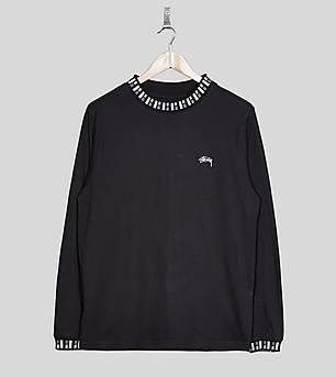 Stussy Long Sleeved Cube Crew T-Shirt