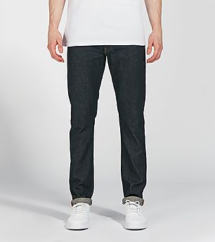 Lee Luke Slim Tapered Fit Jeans 'Blue Cause'