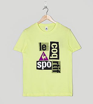 Le Coq Sportif Retro Running T-Shirt
