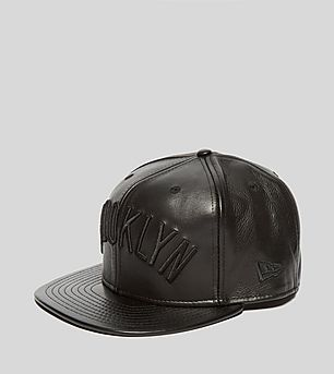 New Era 59Fifty Leather Nets Fitted Cap