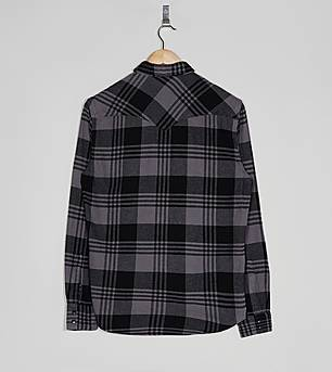 Levis Long Sleeved Barstow Checked Shirt