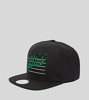 Mitchell & Ness Retro Script Celtics Snapback Cap