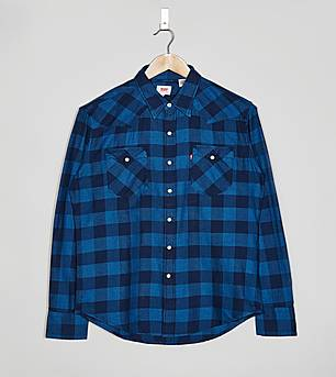 Levis Barstow Plaid Check Shirt