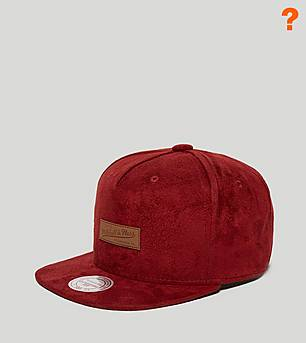 Mitchell & Ness Suede Logo Cap - size? Exclusive