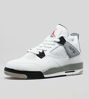 Jordan 4 Retro OG 'Cement' Junior
