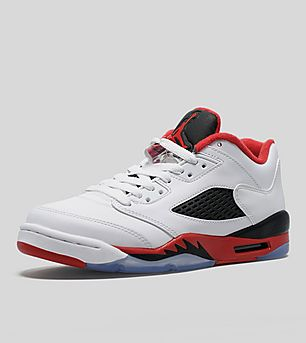 Jordan Air V Retro Low Junior 'Fire Red'