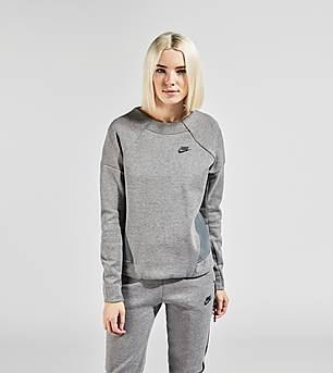 Nike Tech Fleece Crew Mesh Sweatshirt