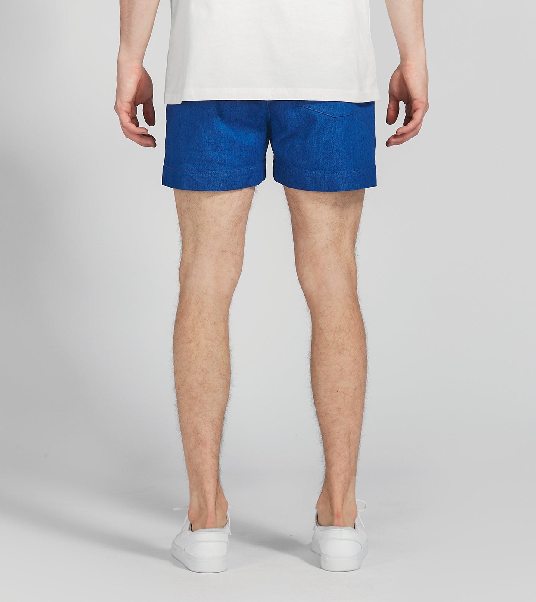 LIBERTINE-LIBERTINE Fade Denim Shorts