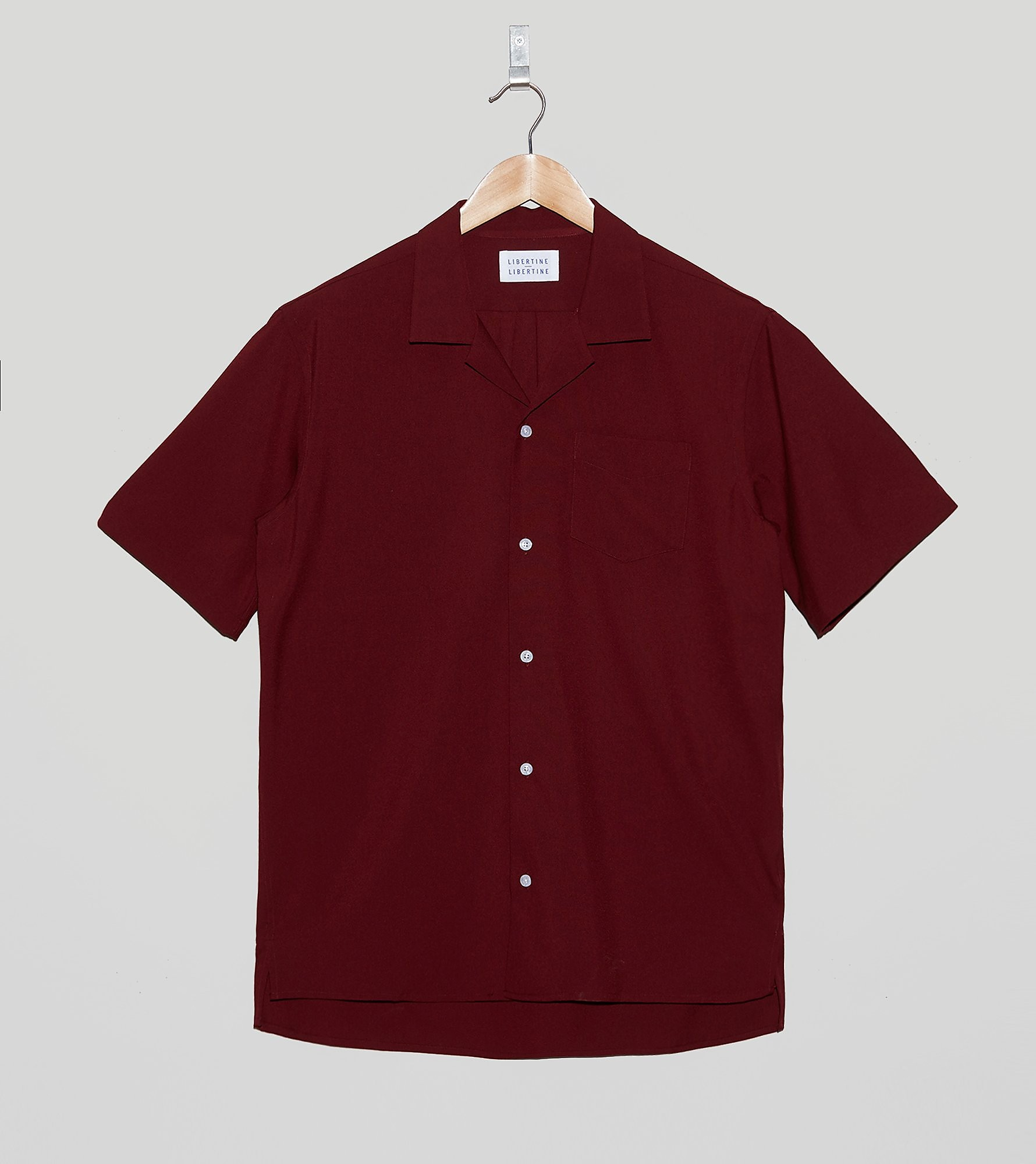 LIBERTINE-LIBERTINE Cave Short-Sleeved Shirt