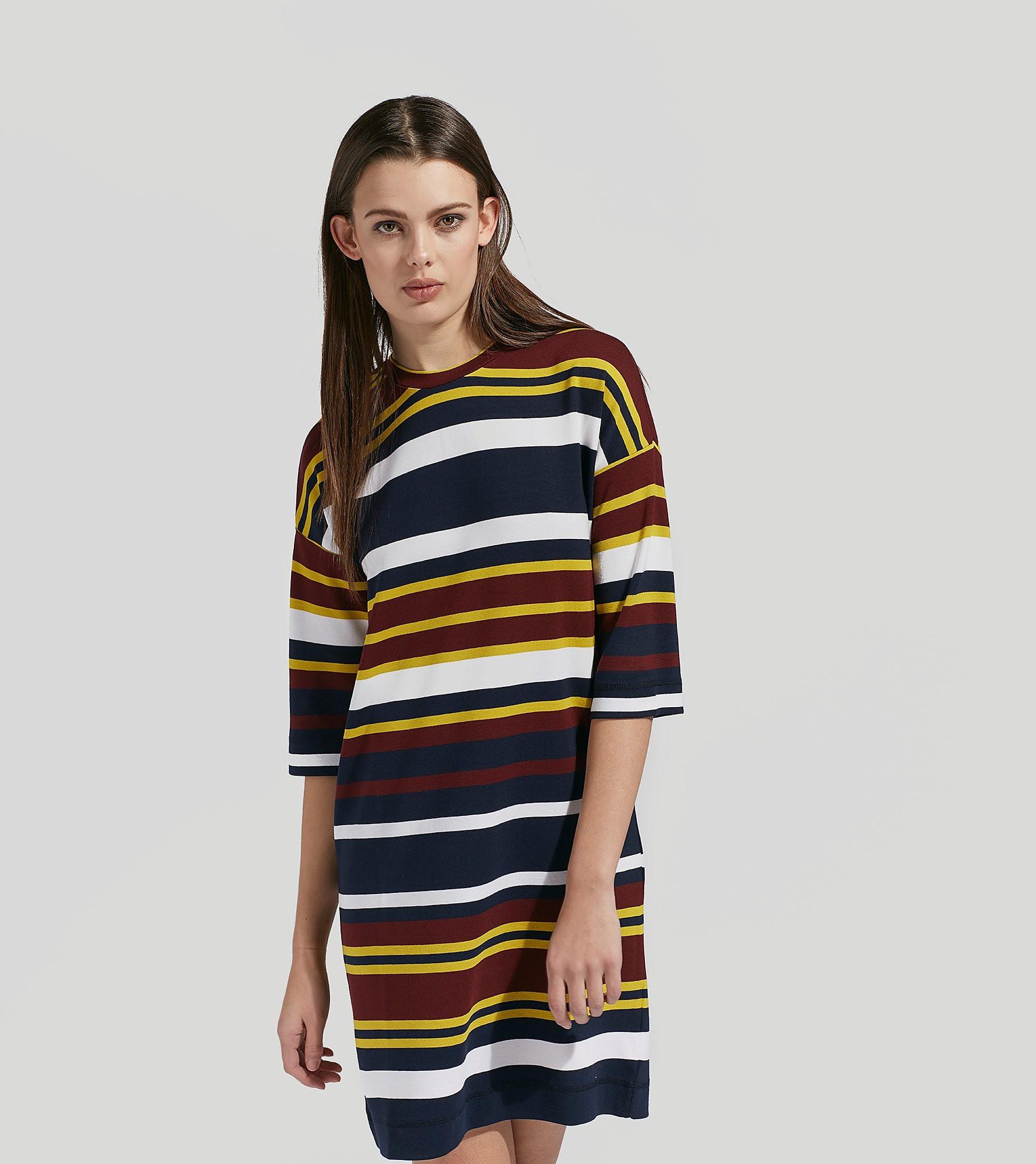 LIBERTINE-LIBERTINE Timbre Stripe Dress