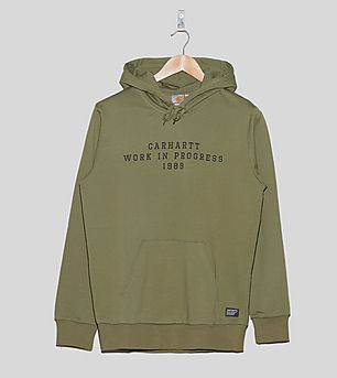 Carhartt WIP Hooded Imprint Sweatshirt