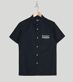 Stussy City Print Short-Sleeved Shirt