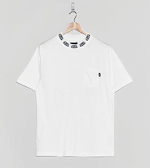 Stussy Jacquard Collar T-Shirt