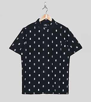 Stussy Short-Sleeved Tribal Shirt