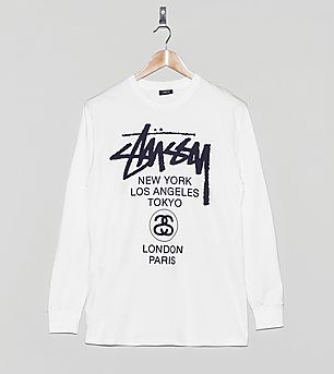 Stussy Long-Sleeved T-Shirt