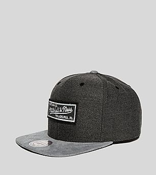 Mitchell & Ness Cation Perforated Suede Snapback Cap