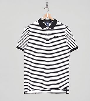 Nike Blue Label Stripe Polo Shirt