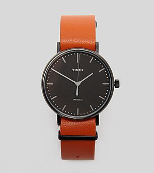 Timex Fairfield Weekender Leather Watch