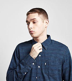 Levis Long-Sleeved Sunset Plaid Shirt