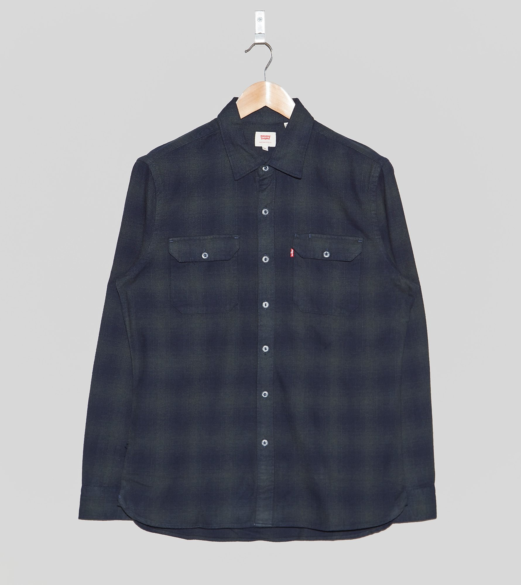 Levis Long-Sleeved Worker Shirt