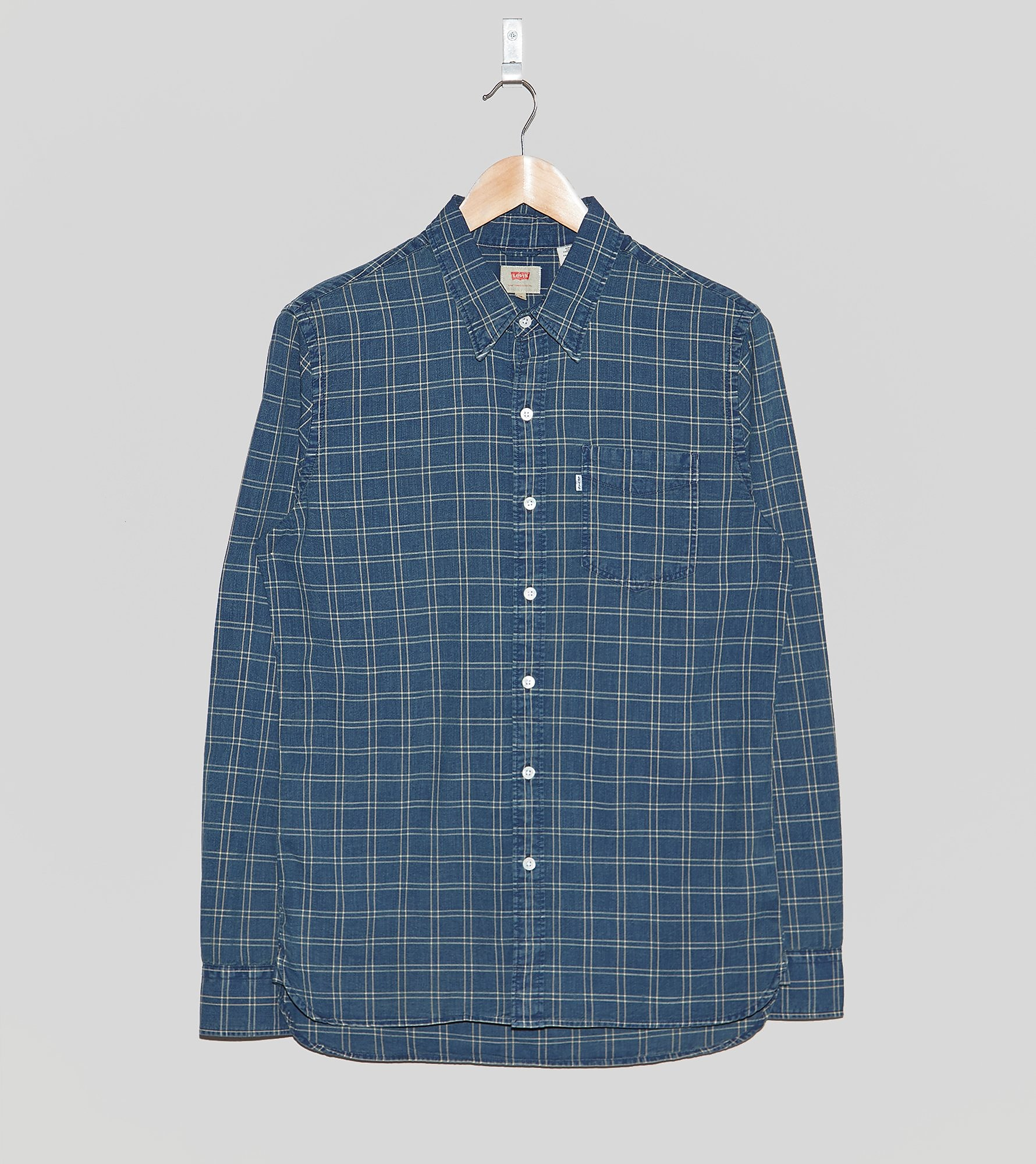 Levis Long-Sleeved Sunset Plaid Shirt