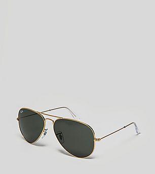 Ray-Ban Aviator Classic Green G-15 Sunglasses