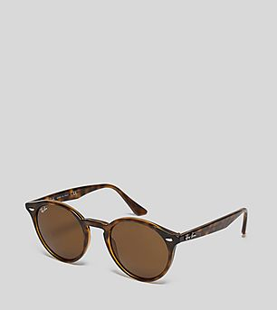 Ray-Ban Round Classic Brown RB2180 Sunglasses
