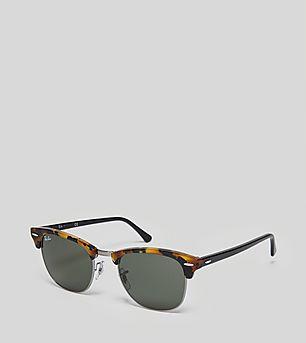 Ray-Ban Large Clubmaster Fleck G-15 Sunglasses
