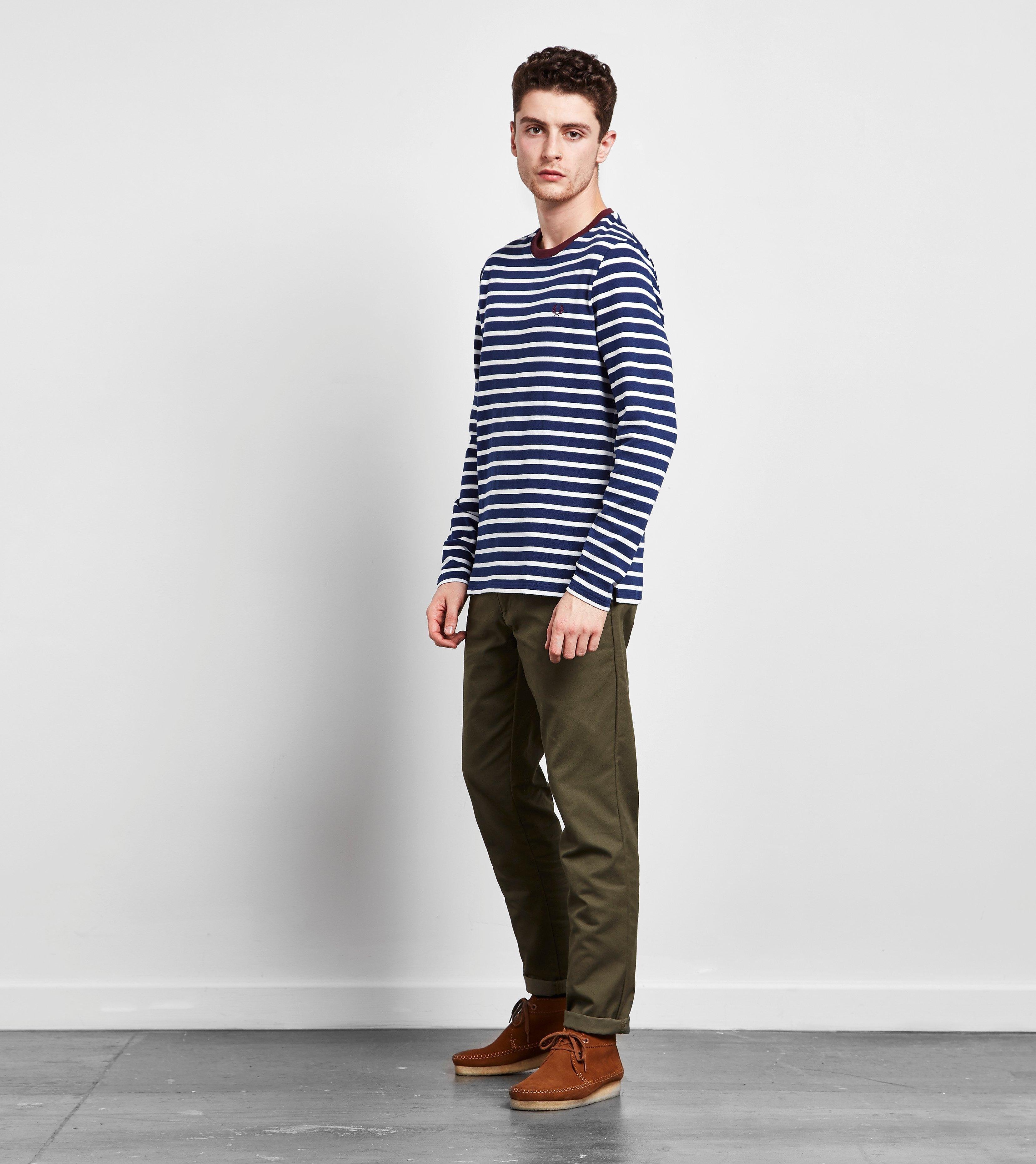 Fred Perry Breton Stripe Long-Sleeved T-Shirt