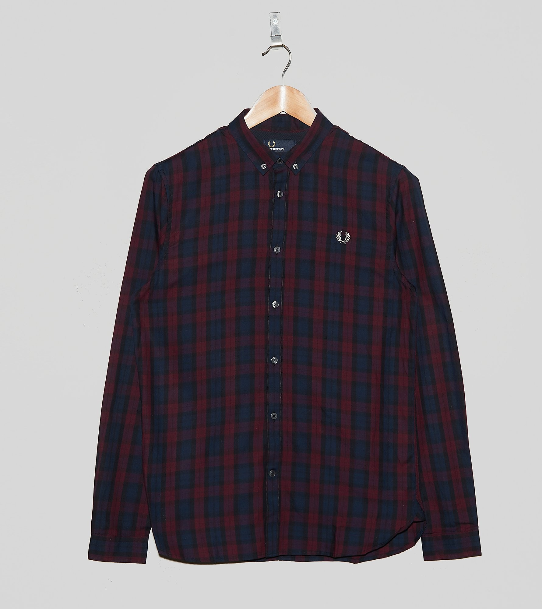 Fred Perry Winter Tartan Plaid Shirt