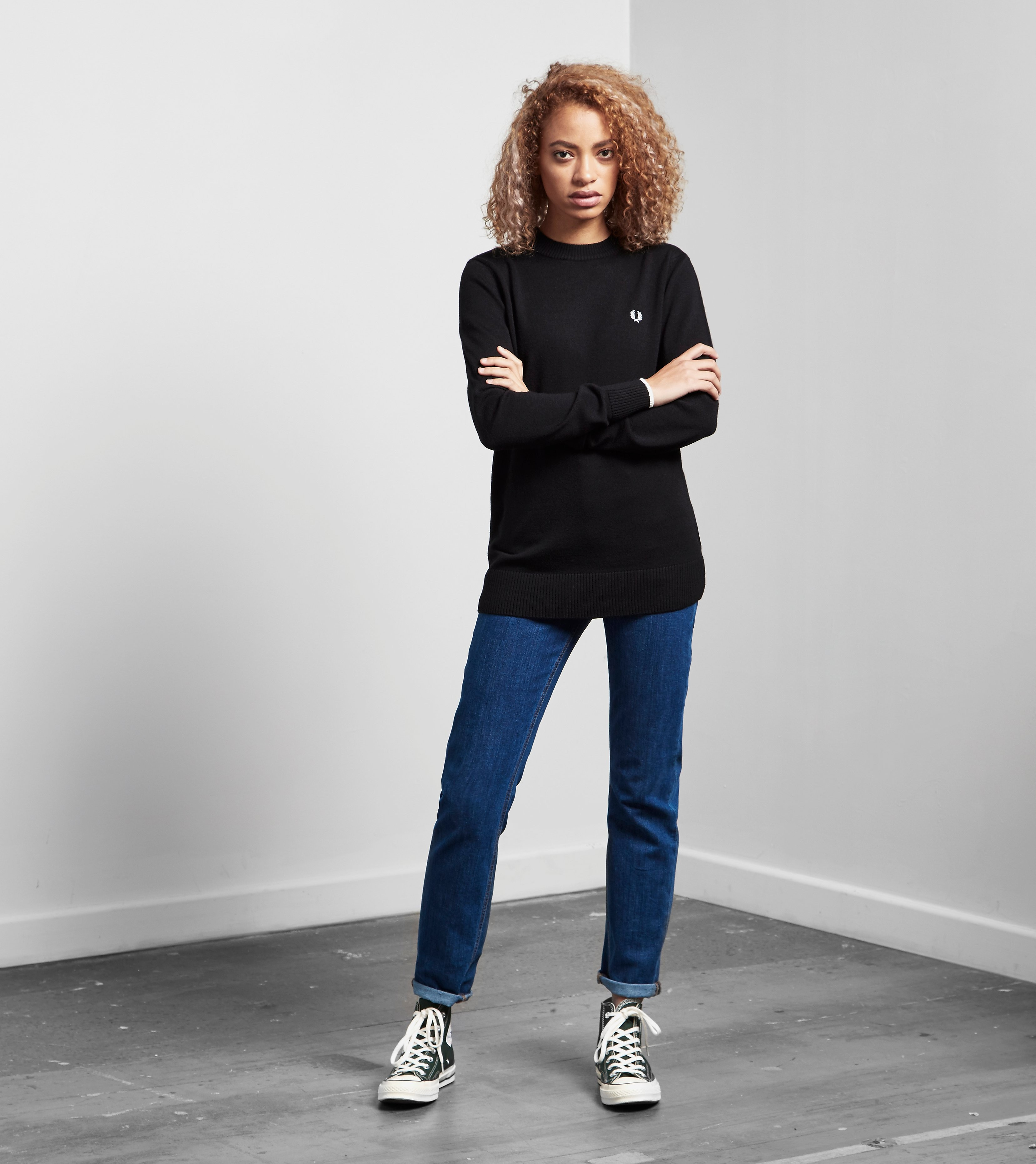 Fred Perry Crew Neck Sweater