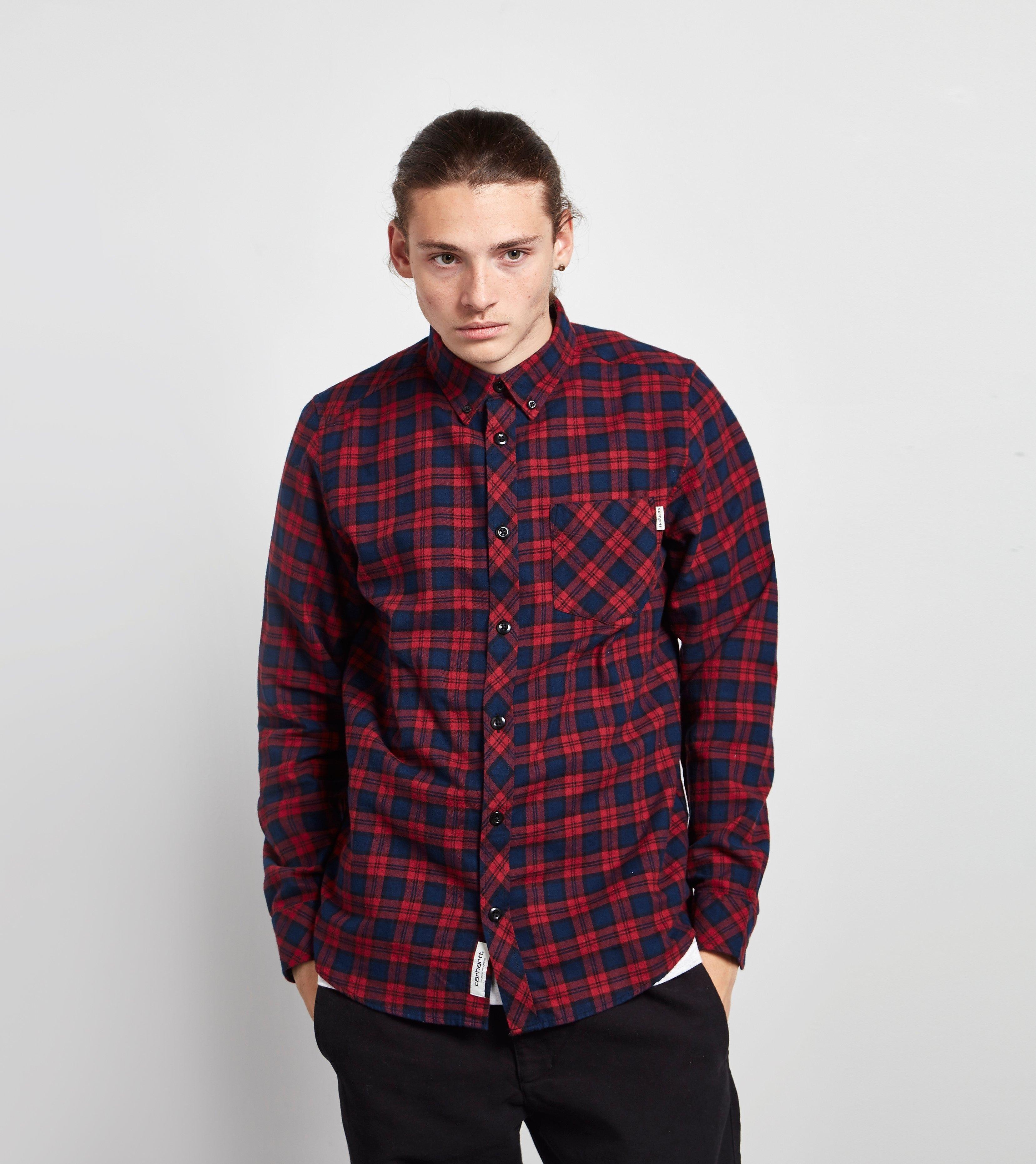 Carhartt WIP Long-Sleeved Shawn Shirt