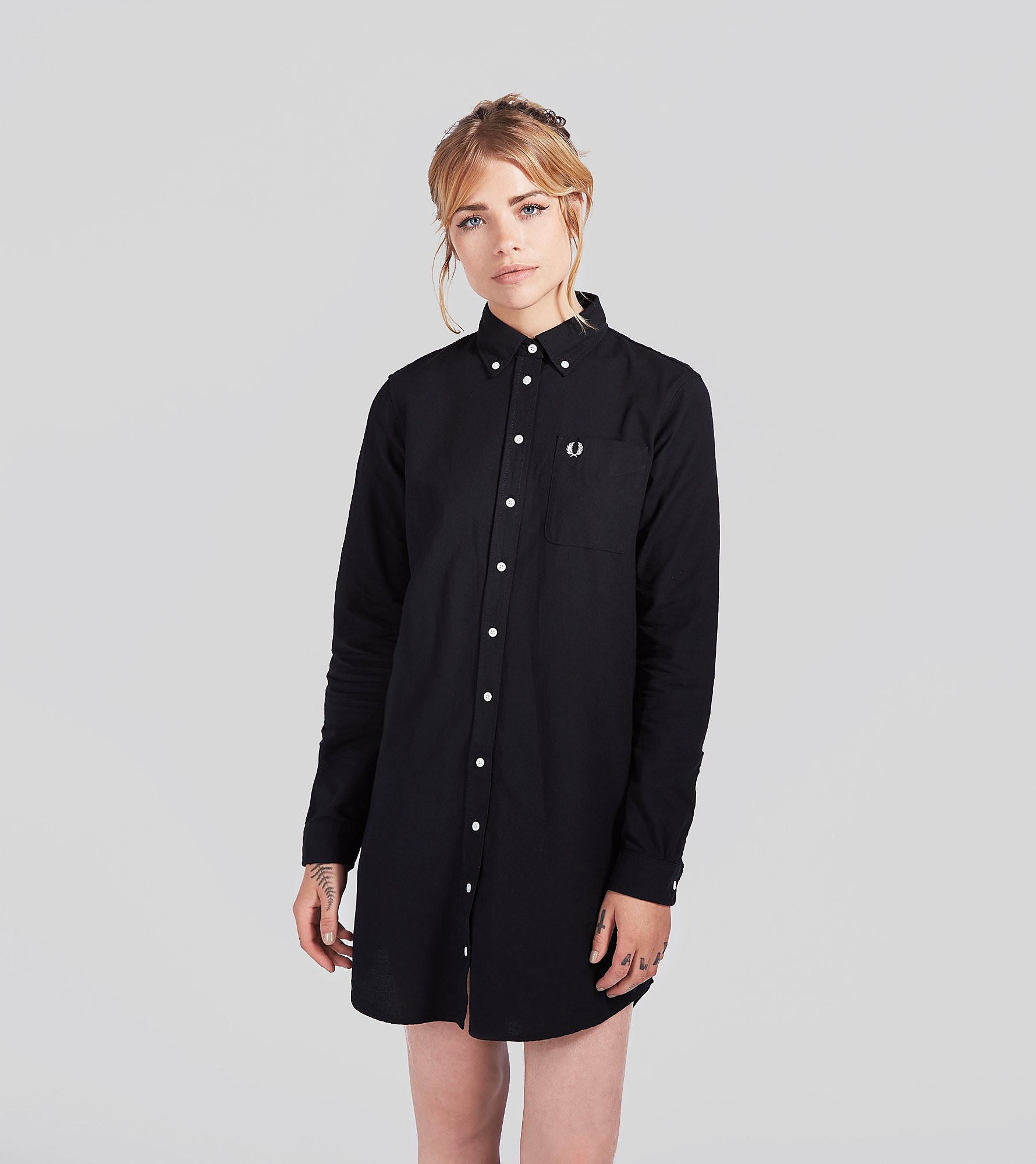 Fred Perry Oxford Shirt Dress