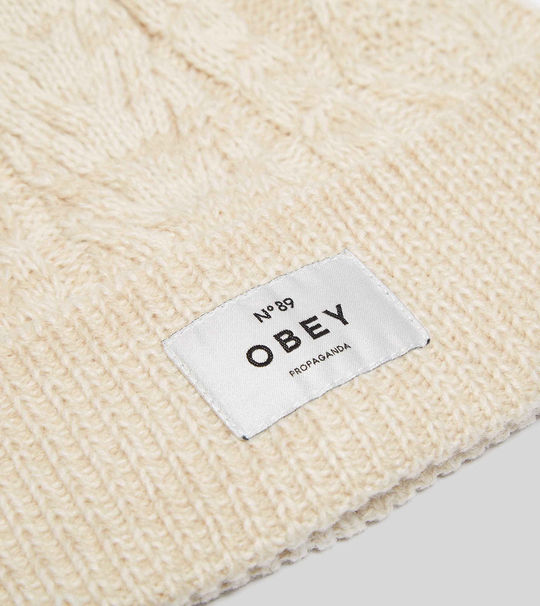 Obey Freja Cable Knit Beanie Hat