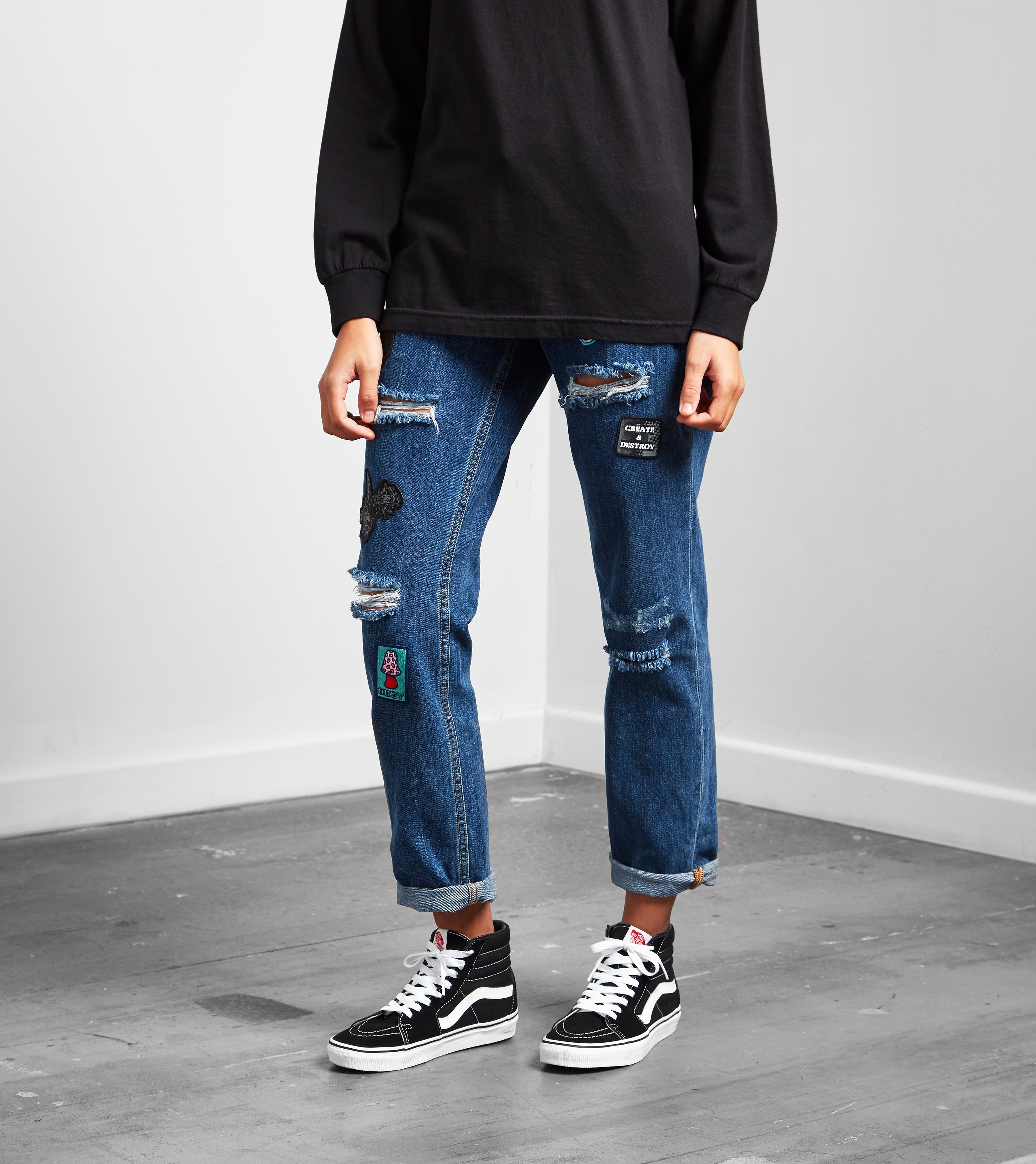 Obey Nemesis Relaxed Straight Leg Jeans