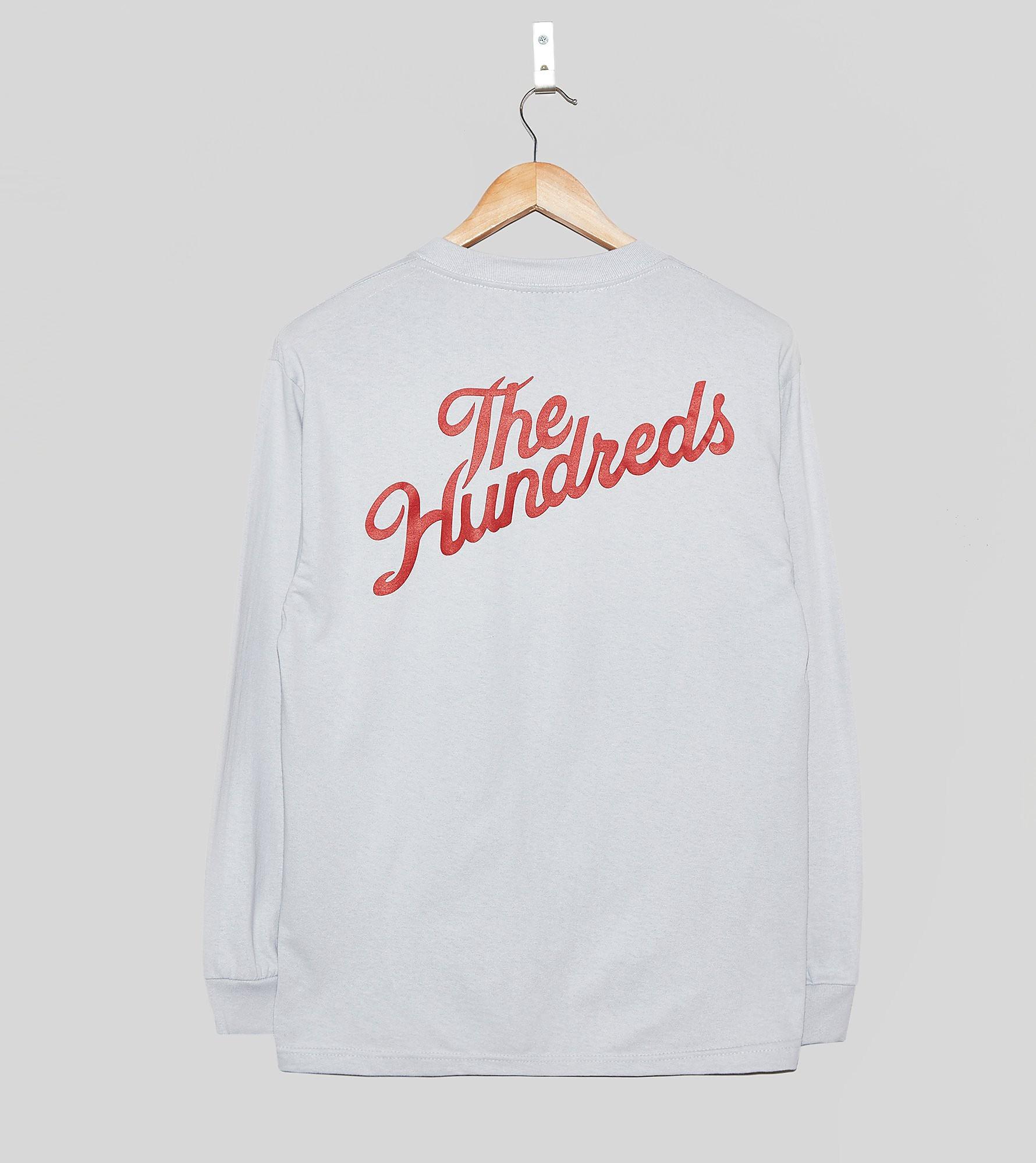 The Hundreds Slant Crest Long-Sleeved T-Shirt
