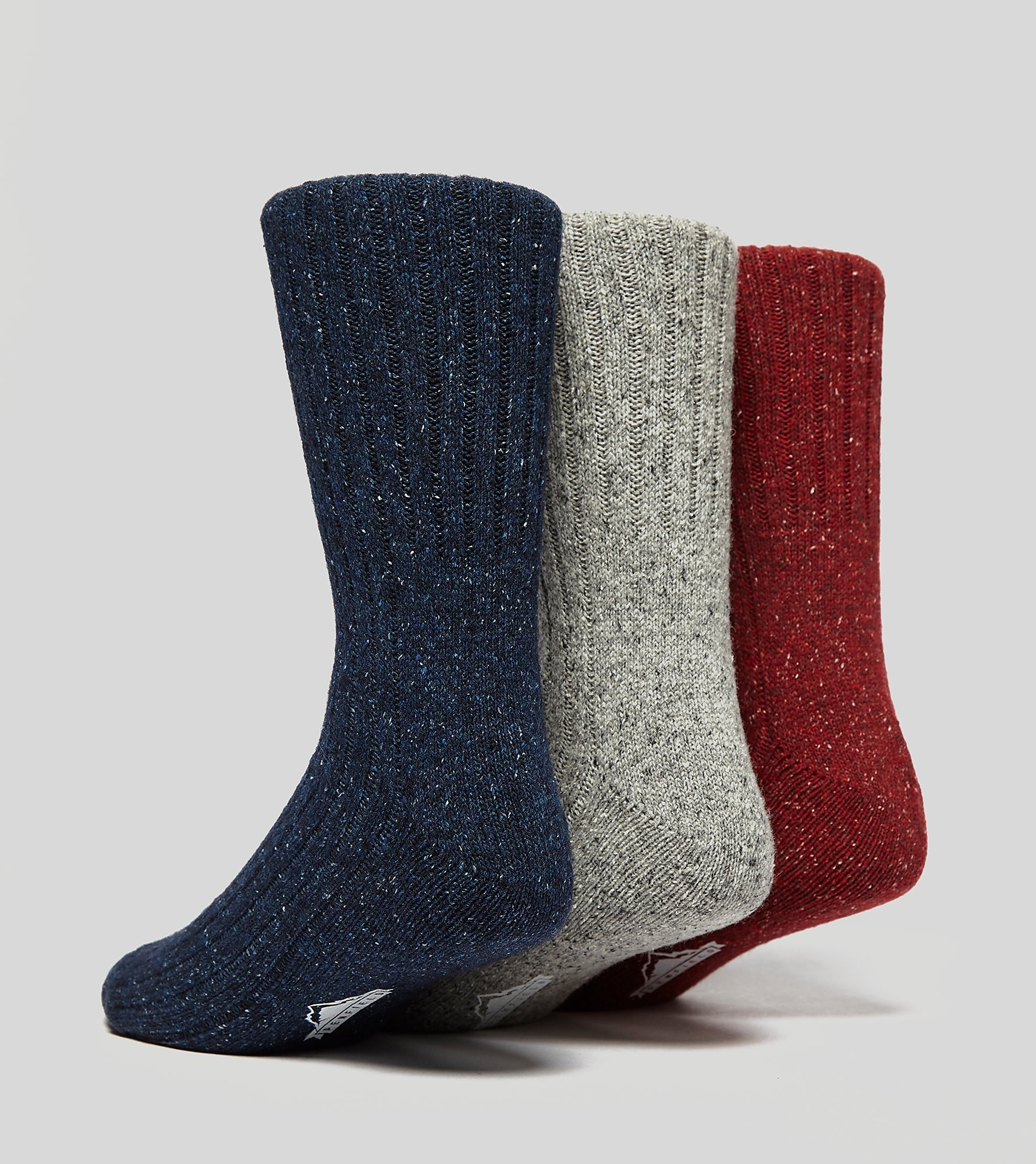 Penfield 3 Pack Flecked Socks