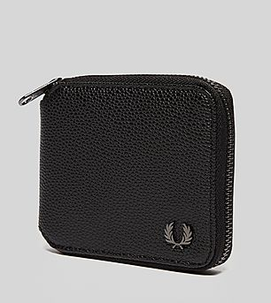Fred Perry Grain Zip Wallet