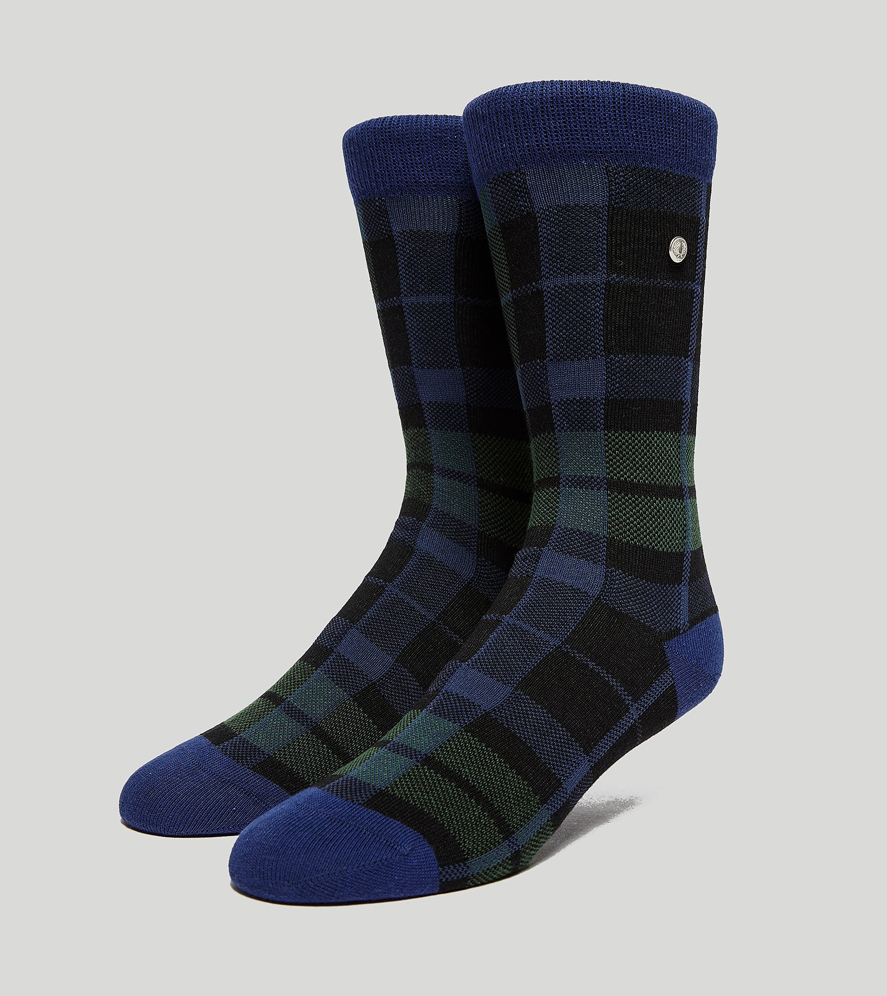 Fred Perry Black Watch Tartan Socks