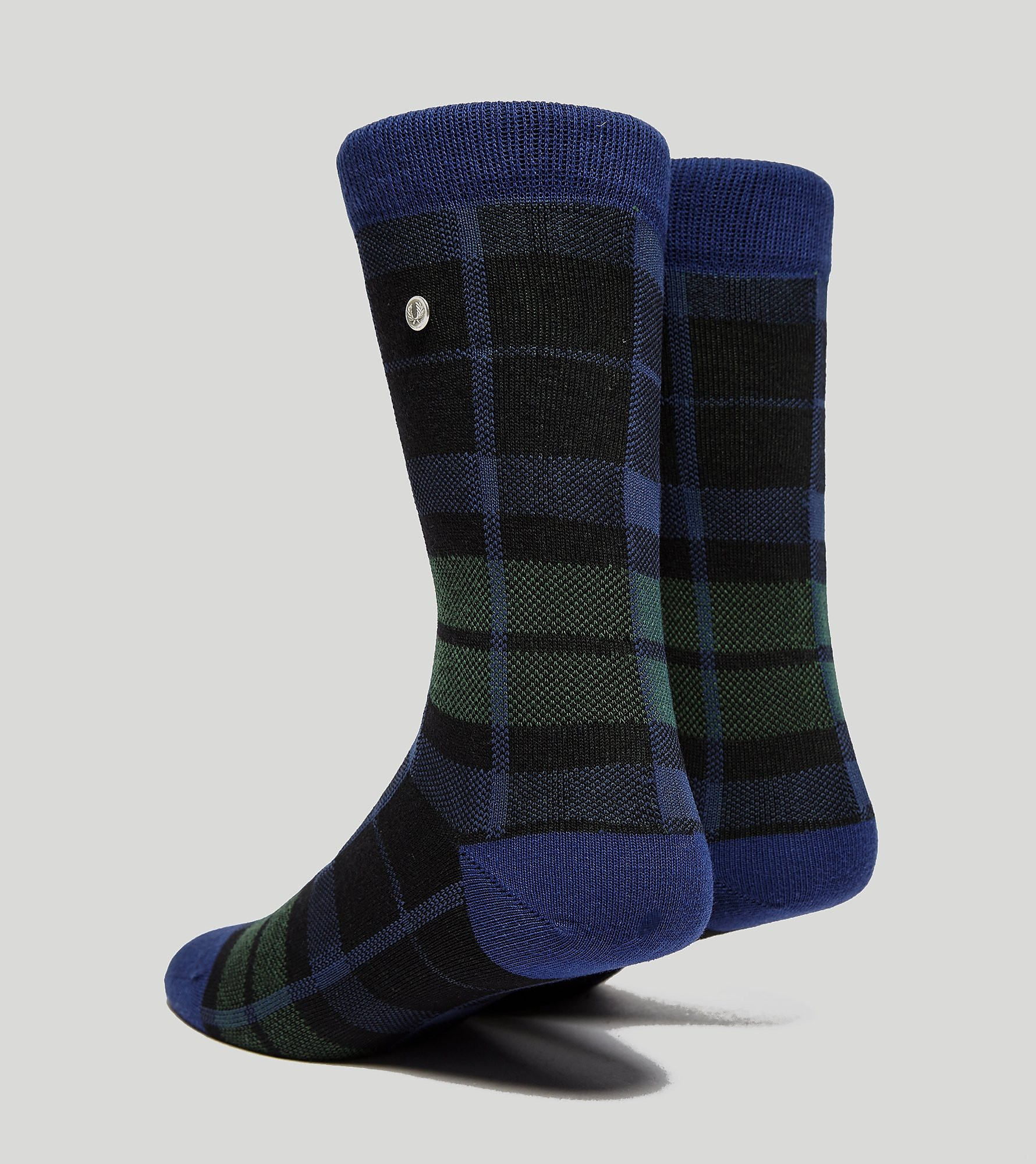 Fred Perry Black Watch Tartan Socks