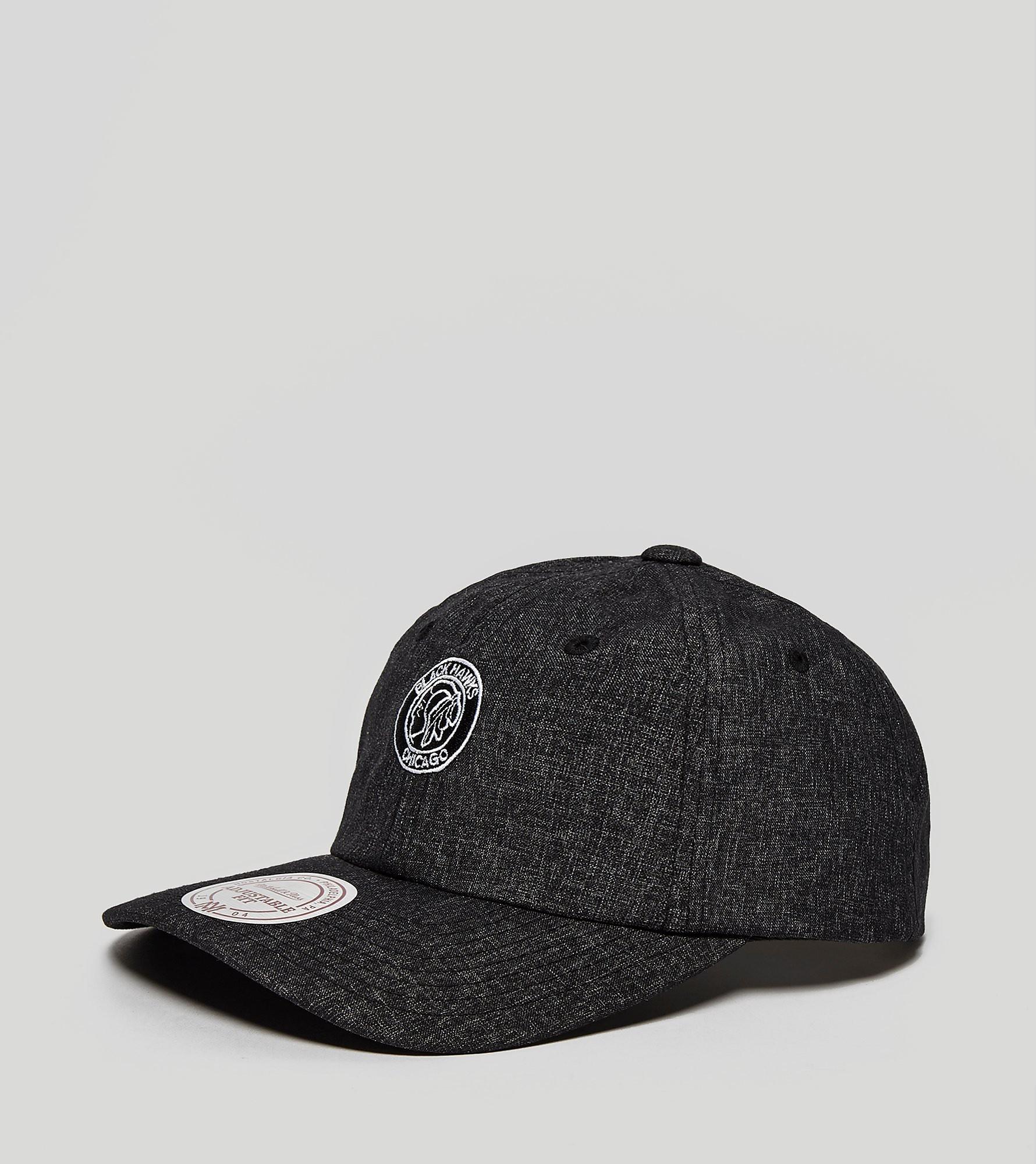 Mitchell & Ness Melange Blackhawks Snapback Cap